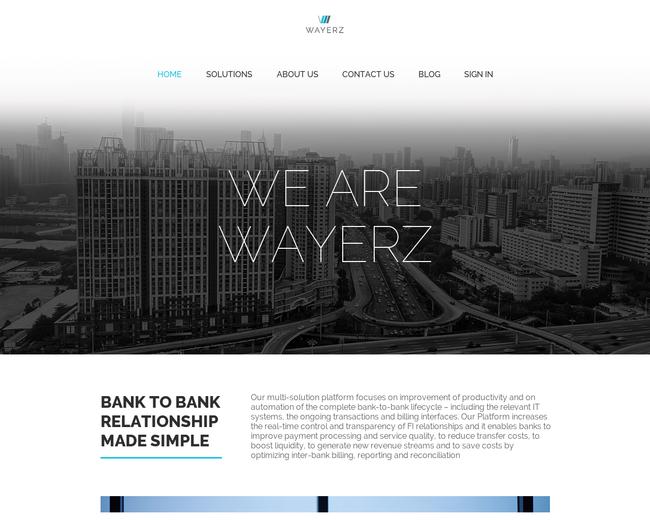 Wayerz - Optimizing Wires. Worldwide