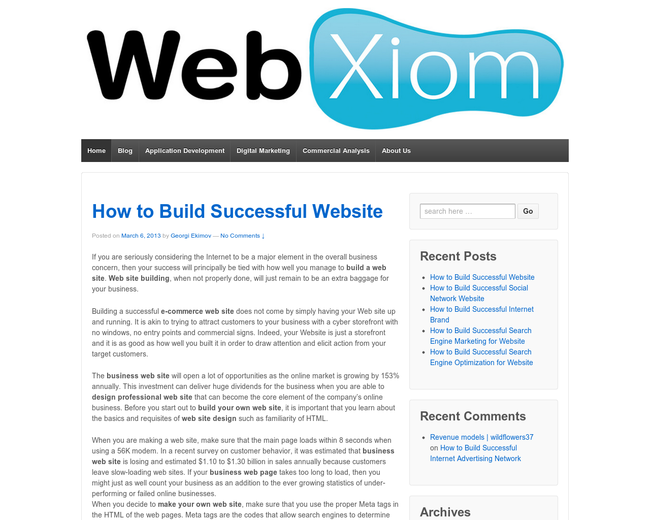 WebXiom