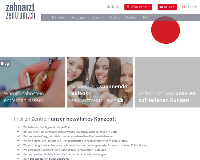 zahnarztzentrum.ch
