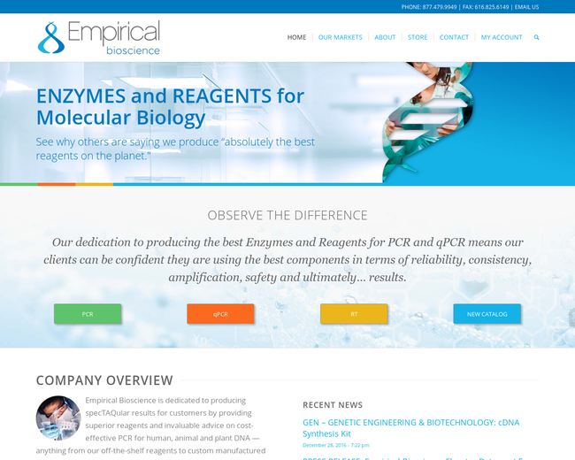Empirical Bioscience