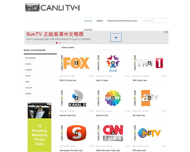 Canlı Tv HD