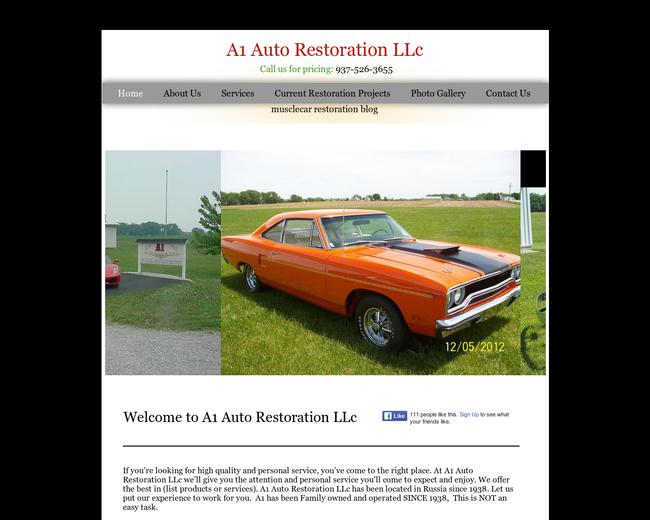 Auto Restoration Russia