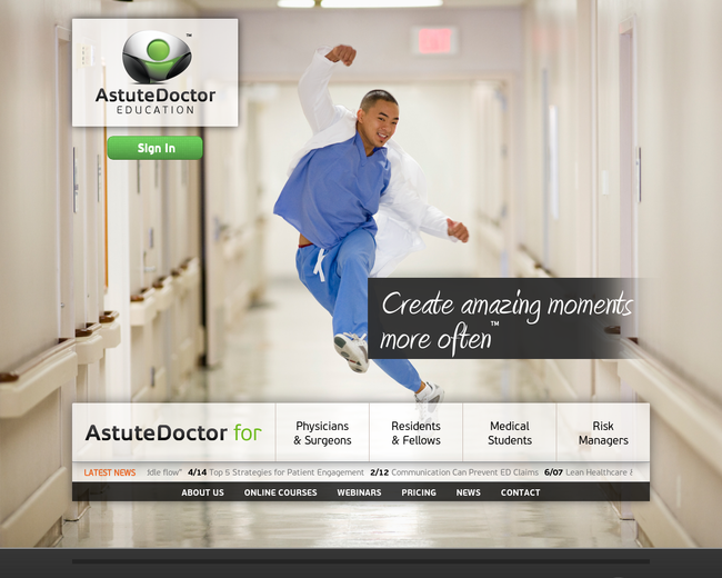 Astute Doctor Education
