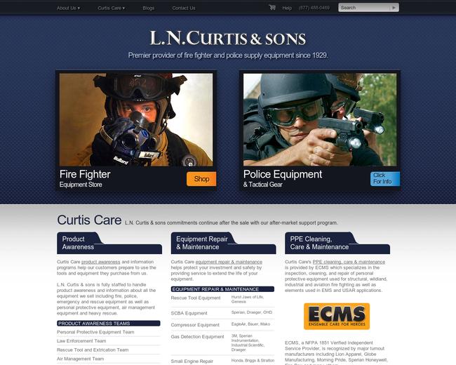 L.N. Curtis & sons