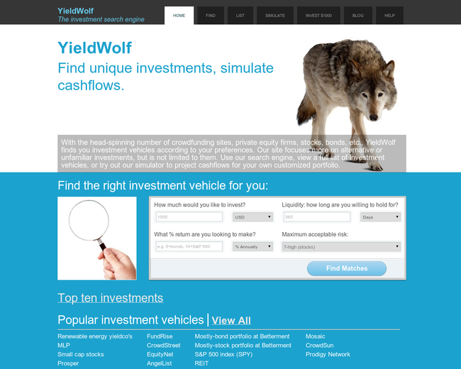 YieldWolf.com