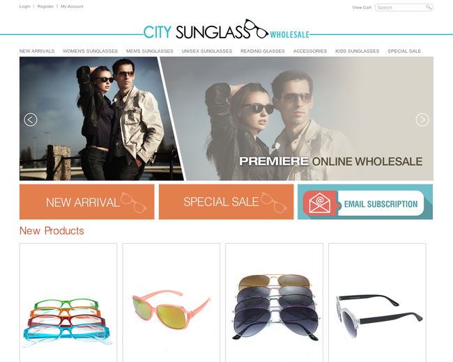 City Sunglass Wholesale