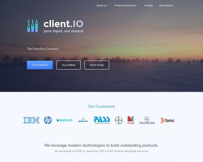 client IO