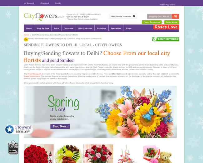 City Flowers Delhi