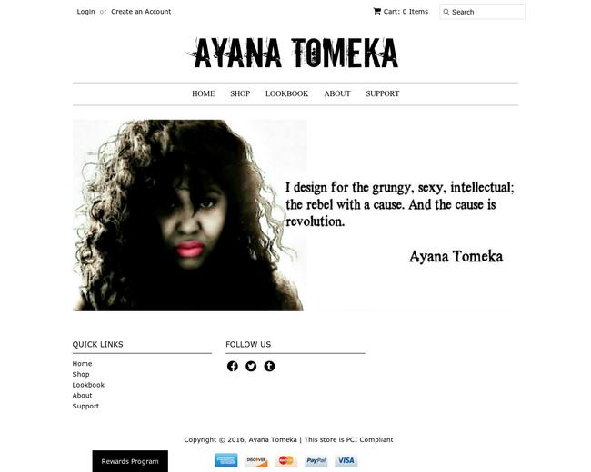 Ayana Tomeka