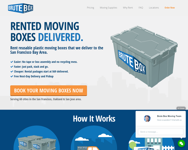Brute Box Moving Boxes