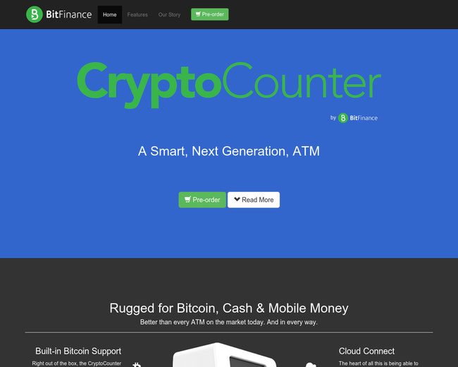 Crypto Counter