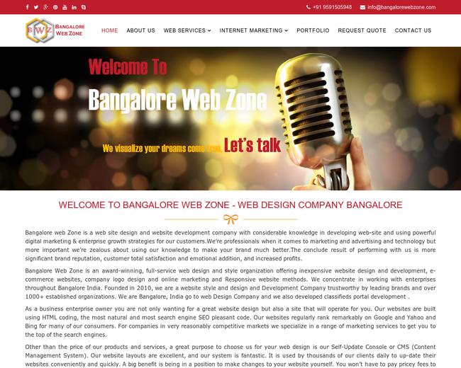 Bangalore Web zone