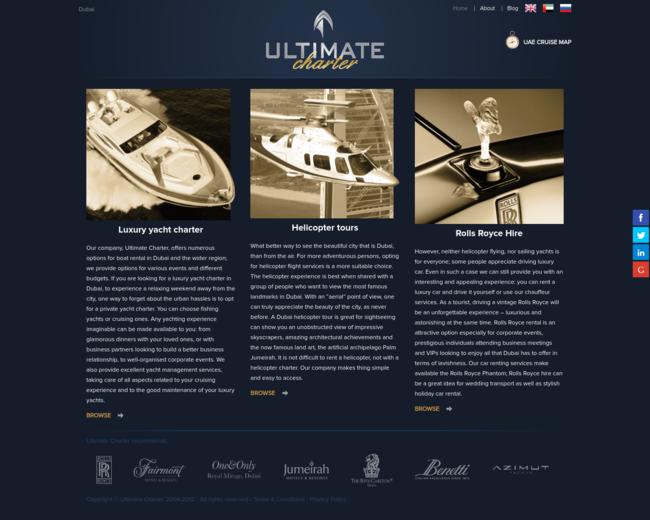 Ultimate Yacht Charter Dubai