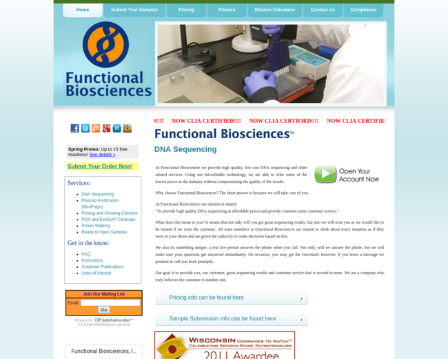Functional Biosciences, Inc.