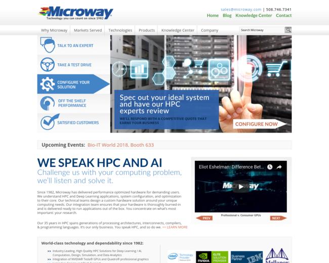 Microway, Inc.