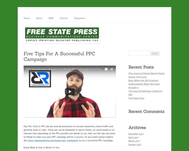 Free State Press, Inc.