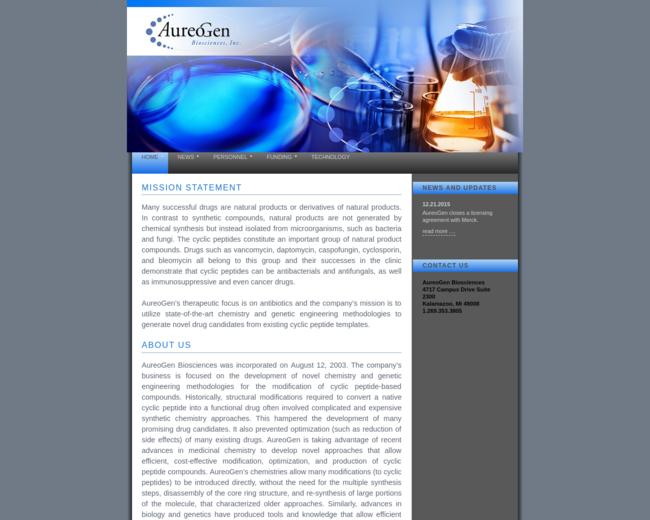 AureoGen Biosciences, Inc.