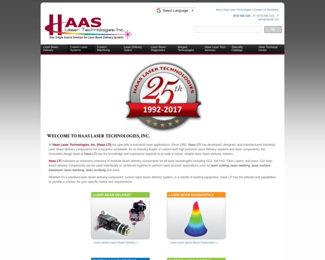 Haas Laser Technologies, Inc