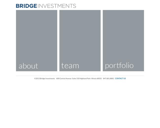 Bridge Investments