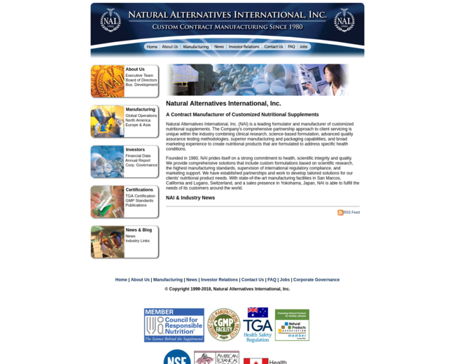 Natural Alternatives International