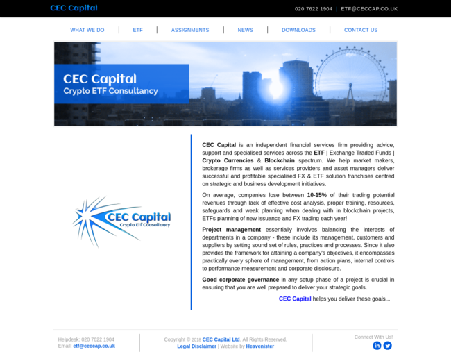 China Earthcare Capital Limited