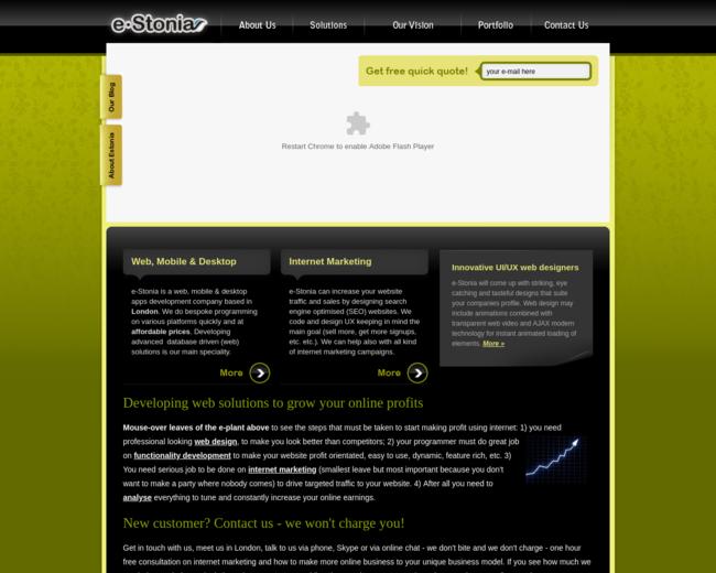 e-Stonia.co.uk (KMR Holding LLC)