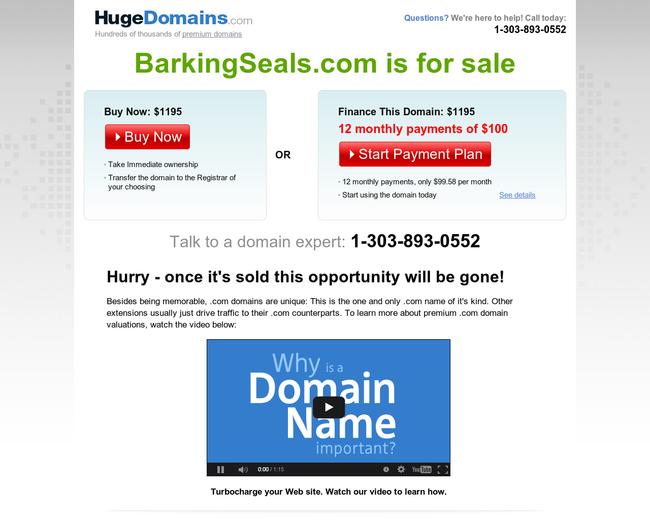 BarkingSeals.com