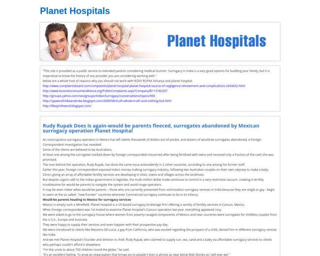 planethospitals.com