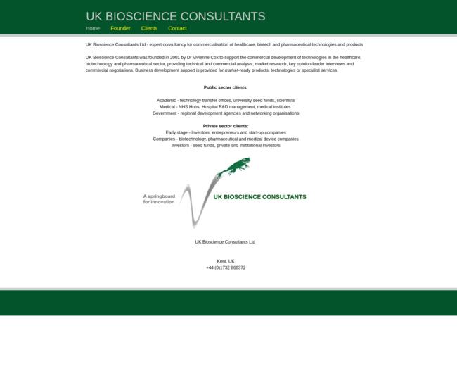 UK Bioscience Consultants Ltd