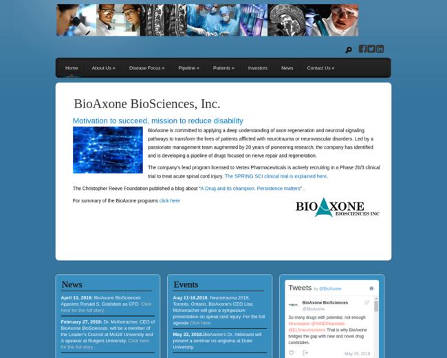 BioAxone Biosciences