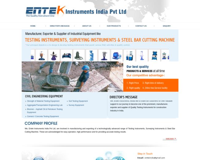 EnTek Instruments (I) Pvt. Ltd.