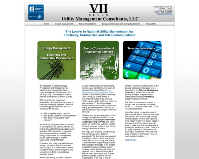 Seven - Utility Management Consultants, LLC