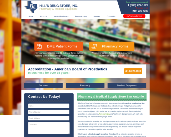 Hill's Drug Store