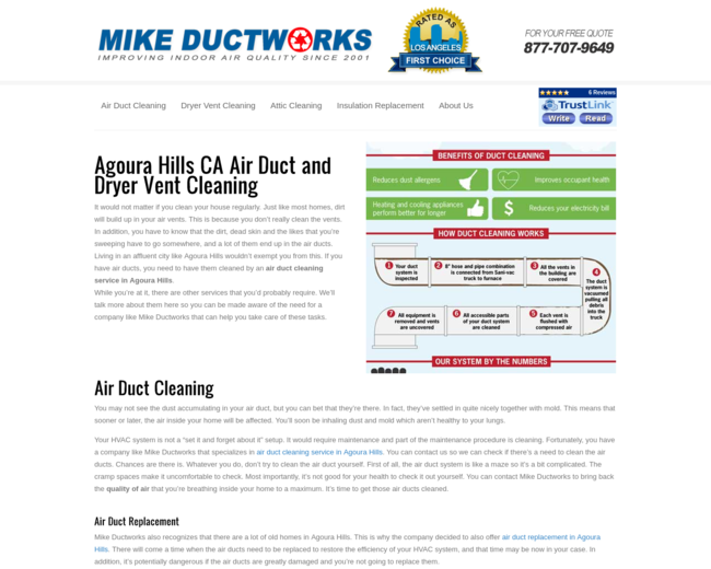 Agoura Hills Air Duct Cleaning Company