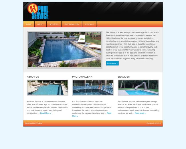 A-1 Pool service