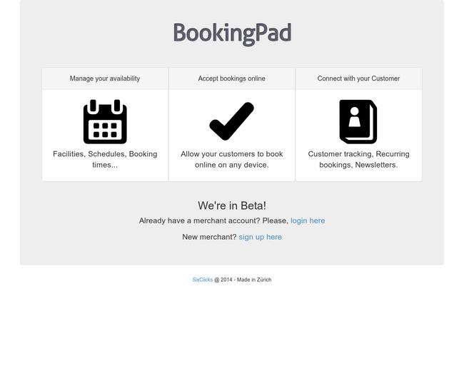 BookingPad