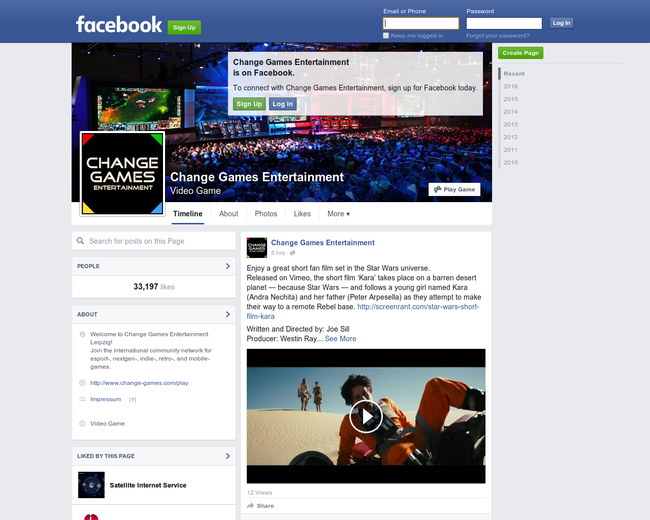 Change Games Entertainment