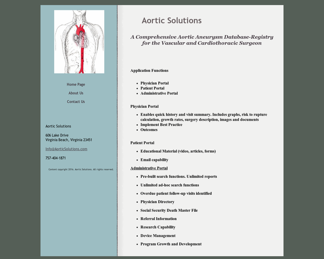 Aortic Solutions