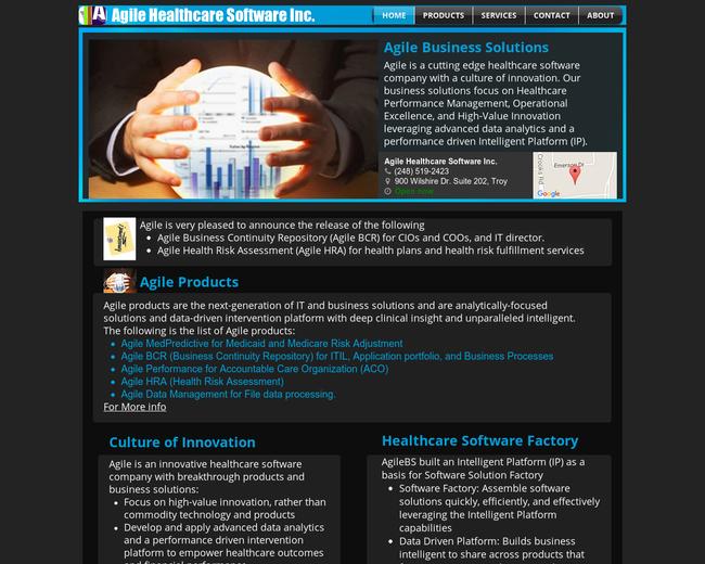Agile Healthcare Software