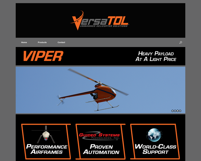 VersaTOL Unmanned Helicopter Solutions