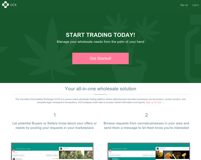 Cannabis Commodities Exchange