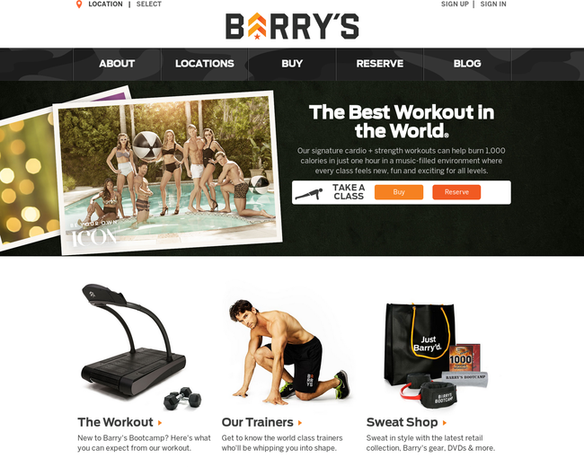 Barry's Bootcamp Irvine