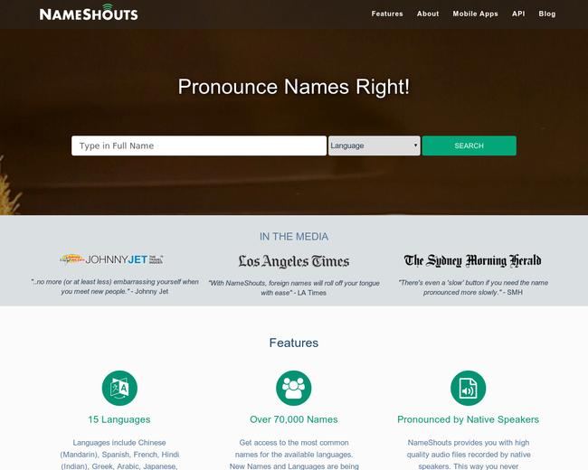 NameShouts