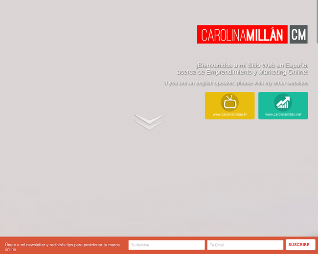 CarolinaMillan.Com