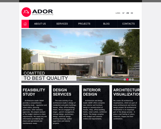 Architectural studio ADOR