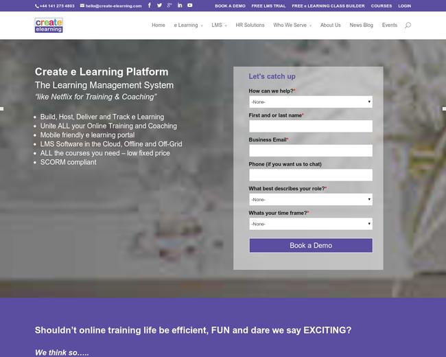 Create eLearning