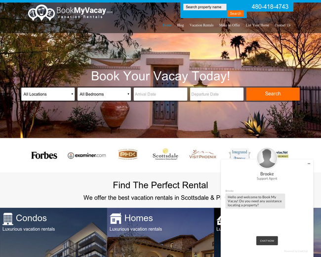 Book My Vacay Vacation Rentals