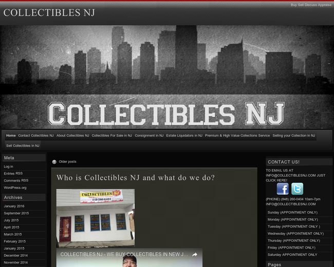 Collectibles NJ