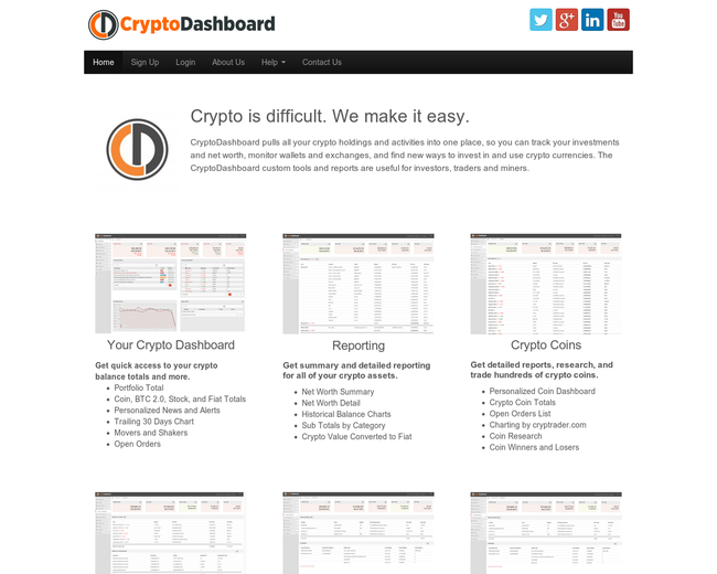 CryptoDashboard