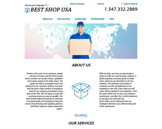 BEST SHOP USA